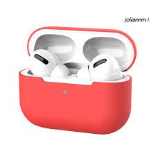 Vỏ Bảo Vệ Hộp Sạc Tai Nghe Bluetooth Airpods Pro 3 Bằng Silicon Hình Jolian  - Tai nghe Bluetooth chụp tai Over-ear