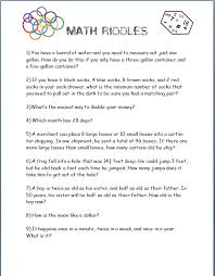 Math Should Never Be Boring! More Math Brain-Teasers (Free ...