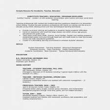Latest Resume Format For Teachers Beauteous Teaching Resumes Examples Substitute Teacher Resume Examples