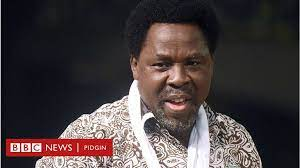 Tb joshua, who is the founder of the synagogue church of all nations, scoan, was said to have been sick for two days, before his death. Tb Joshua Death Nigerian Prophet Temitope Balogun Joshua Don Die Bbc News Pidgin