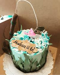 Making a cake like this doesn't have to be hard and if you're short of time you'll love these two options below. Fishing Cake Design Images Fishing Birthday Cake Ideas
