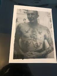 Vintage Tatuaje Fotografía Bernard Kobel Tahiti Felix con anillo abatible  Vaquero jefe #280 | eBay