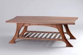 fine coffee tables coffee table black walnut solid wood fine t fine woodworking coffee table plans
