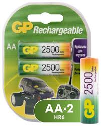 <b>Аккумулятор</b> Ni-Mh <b>2500</b> мА·ч <b>GP</b> Rechargeable <b>2500</b> series <b>AA</b> ...
