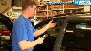 how to install replace rubber weatherstrip seal door jeep grand cherokee 99 04 1aauto you