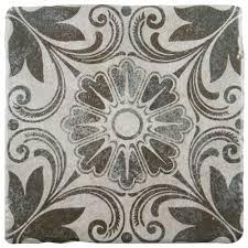 Tile Decor Store Merola Tile Costa Cendra Decor Dahlia 100100100 in x 100100100 in 98