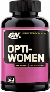 optimum nutrition opti women 120 capsules larger image