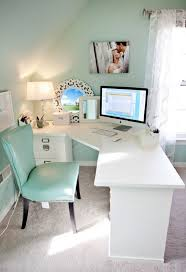 dream home office. Dream Home Office - Turquoise And White Really Like The Lamp Mirror. 1