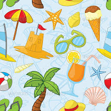 Summer Pattern Interesting Summer Pattern By Plutofrosti GraphicRiver