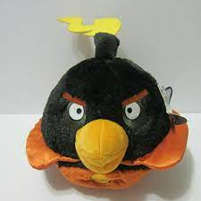 NWT ANGRY BIRDS SPACE - BOMB - STUFFED TOY