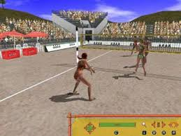 picture 1 beach volleyball hot sports play