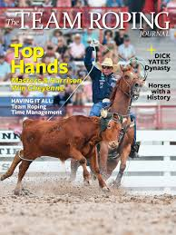 team roping journal one year ago we made the transition from spin to win rodeo and super looper to this one new brand and one year ago