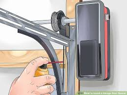how to install garage door springs best of how to install a garage door opener with