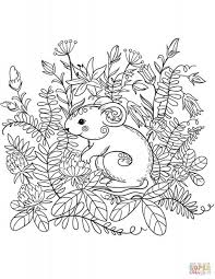 Mouse Paint Coloring Sheet