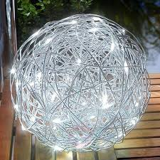 outdoor light led solar aluminium wire ball 3012511 31