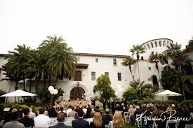 santa barbara courthouse sunken gardens wedding julia and kameel