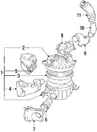 parts com® toyota 4runner air intake oem parts 1994 toyota 4runner sr5 v6 3 0 liter gas air intake