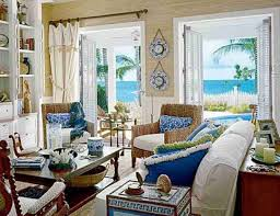 Coastal Living Decorating With Color Blue Color Decoration Ideas - Living decor ideas
