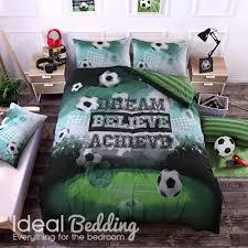 home football duvet quilt bedding cover and pillowcase bedding set previous next