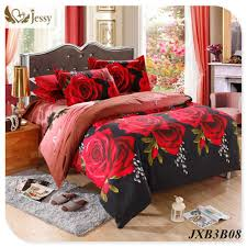 3d bedding set tiger rose printed bedding animal print bedspread bedclothes king duvet cover set king 4pcs maxyangel com
