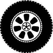 monster truck tires clipart.  Monster Vector Illustration Wheel  Vector Tyre With Monster Truck Tires Clipart K