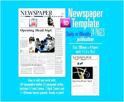 Creating A Newspaper Template Editable Newspaper Template Portrait Online Word