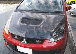 <b>Капот карбоновый с воздухозаборником</b> для Mitsubishi Colt