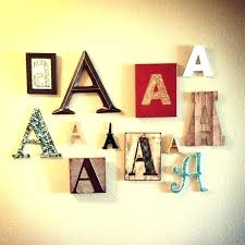 large letters for wall letter wall decor initial letter wall decor a wall decoration letter wall