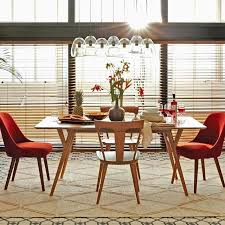 west elm mid century dining table cly mid century modern dining room chairs tapizadosraga
