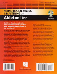 Sound Design Mixing And Mastering With Ableton Live Buy Sound Design Mixing And Mastering With Ableton Live