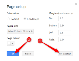 How to Change Page Orientation in Google Docs