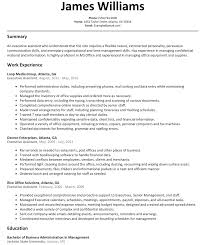Administrative Assistant Summary Resumes Creatives Executive Assistant Executive Assistant Resume