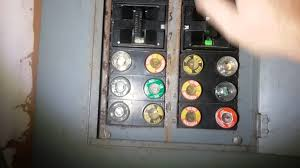 how to change fuses in an old home panel youtube replacing a fuse in a fuse box how to change fuses in an old home panel