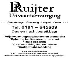 Kerkblad Voor Hoogvliet