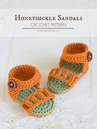 Free Crochet Patterns For Baby Sandals Magnificent Inspiration