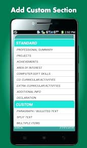 Resume App Unique Free Resume App Daxnetme