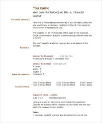 Blank Resume Templates For Microsoft Word 40 Blank Resume regarding Blank  Resume Template Microsoft Word 2335
