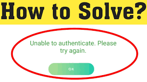Fix unable to authenticate please try again error on Pokemon Go 2020 -  YouTube