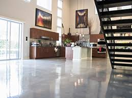 Residential concrete floors Stamped Concrete Polished Concrete Floor In Residential Application Kansas City Concrete Solutions Refleccrete Concrete Floor Polishing