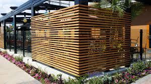 restaurant patio fence. Exellent Restaurant Restaurant Patio Fencing More And Patio Fence S