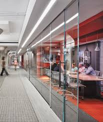 glass wall office. Transformed A Former Sears Building In Atlanta Into The Popular Mixed-use Ponce City Market, Which Includes 64,000 Sf Of Office Space That Comprises Glass Wall