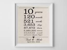 10 Year Anniversary Quotes Classy 48 Years Together Cotton Gift Print 48th Anniversary Gifts 48 Year
