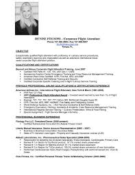 Resume Format For Flight Attendant Unique Resume Templates Cover