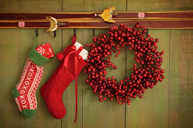 15 Stocking Hanging Ideas No Fireplace Selection Fireplace Ideas. Hanging Christmas  Stockings ...