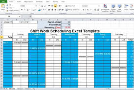 work schedule creator schedule maker excel template scheduling template
