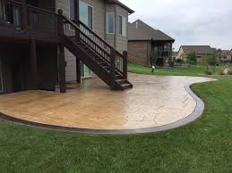 fresh concrete patio ideas patio outdoor concrete backyard stamped for stamped concrete patio ideas