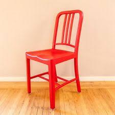 emeco 111 navy chair ebay. single emeco red plastic glass coca-cola 111 navy chair industrial art deco mcm ebay