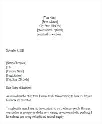 Letter Of Recognition Examples Letter Of Recognition Examples Employee Acknowledgement