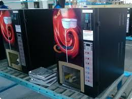 Commercial Vending Machine New High Quality Coin Operated Coffee Vending Machine With Multi Coin