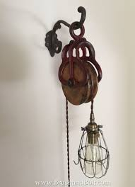 copper pendant light incorporating industrial vibe in style new barn pulley light with vintage style twisted cloth cord solid brass